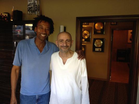 With Alphonso Johnson