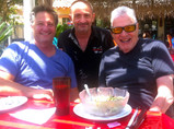 With Denny Tedesco and Steve Binder
