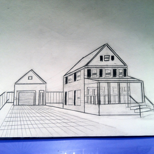 House and Garage