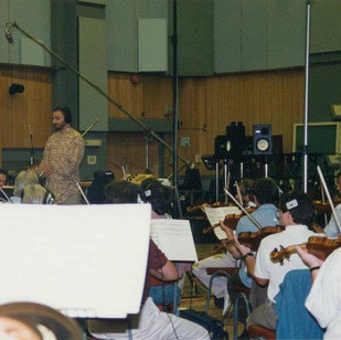 """Gates of Gold"" Recording Session - Royal Philharmonic Orchestra"