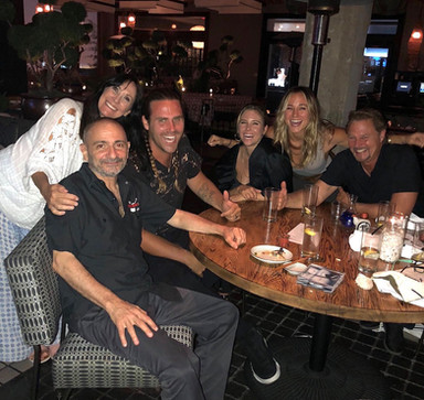 Dinner with the Evigan Family