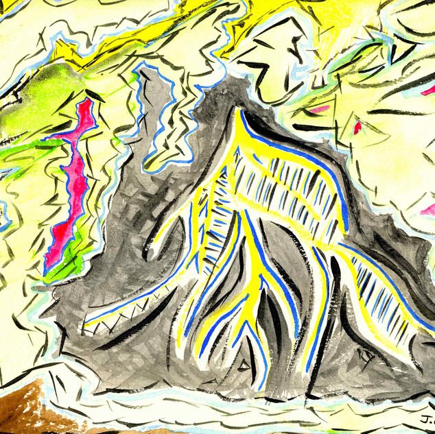 Watercolor 1996 #4