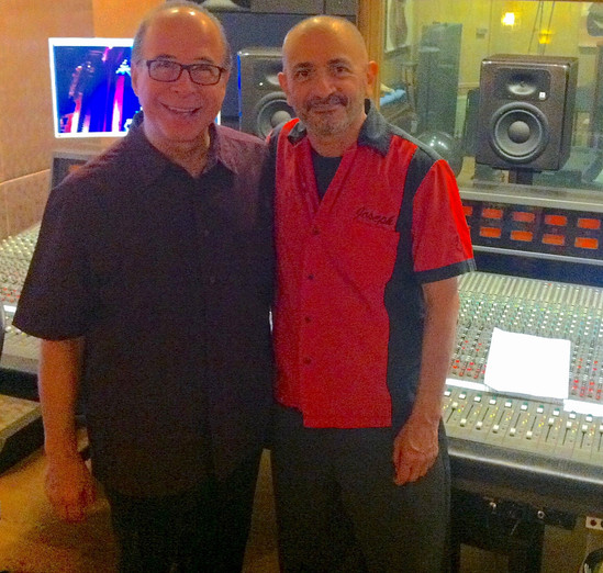 With Emilio Castillo of Tower of Power