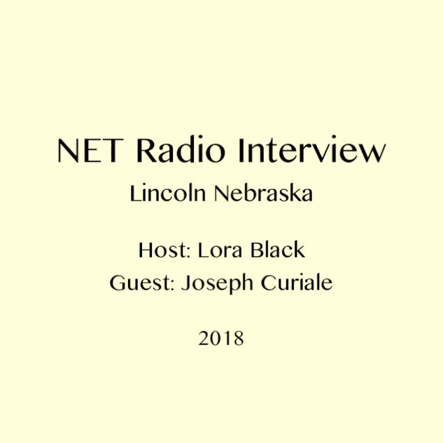 NET Radio Interview 2018