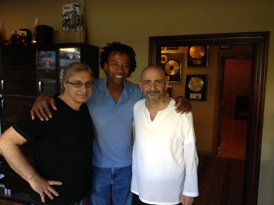 With Joe Vannelli and Alphonso Johnson