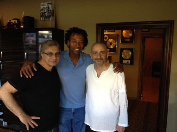 With Joe Vannelli and Alphonso Johnson