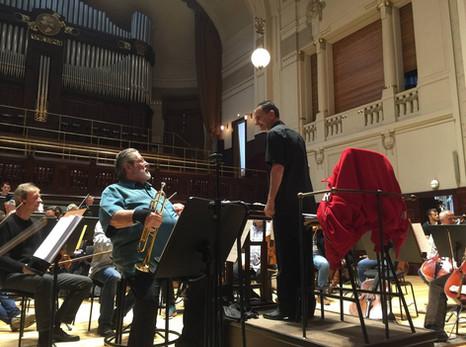 Czech National Symphony Orchestra Rehearsal - Prague, April 19, 2016