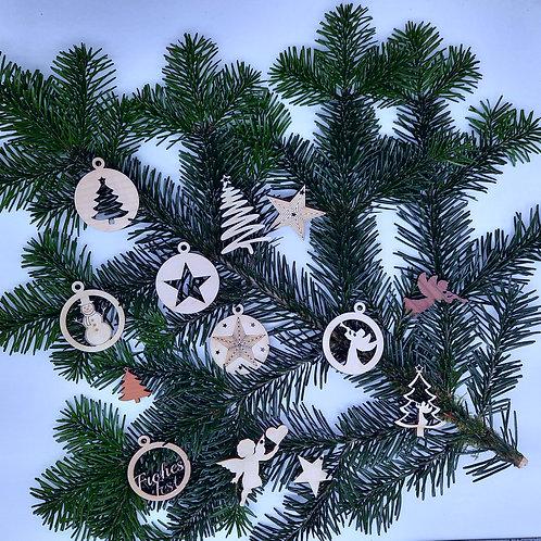 Weihnachtsschmuck Set 13 tlg.