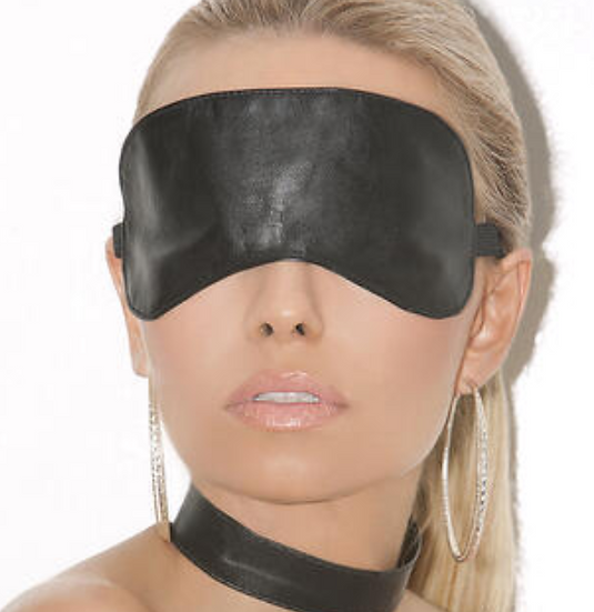 Leather Blindfold...