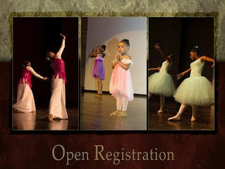 Open Registration Every Saturday