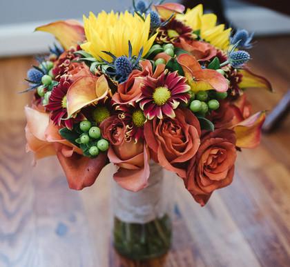 Fall Bride Bouquet