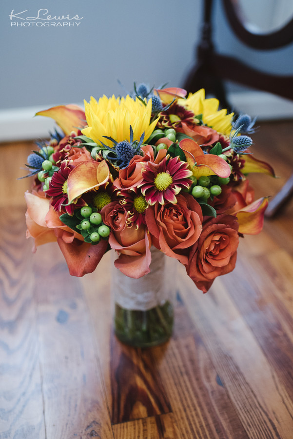 Fall Bride Bouquet