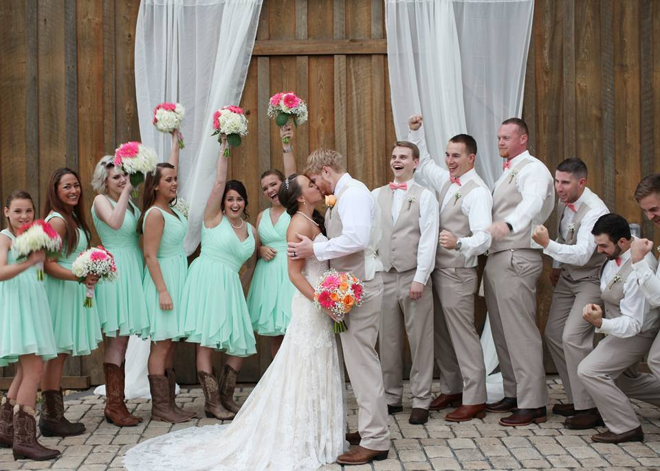 Sowell Farms - Wedding Party