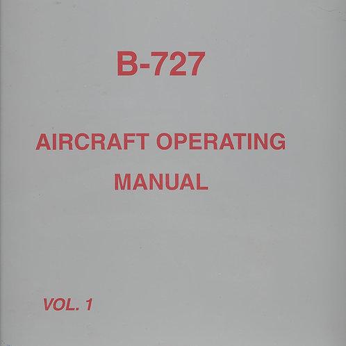 DHL/ASTAR B727-200 Aircraft Operating Manual