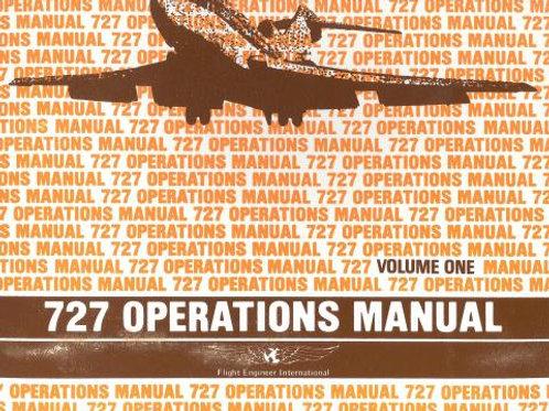 B727 FLIGHT ENGINEERS MANUAL