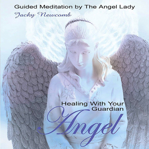 Healing With Your Guardian Angel  CD By Jacky Newcomb ~ Paradise Music