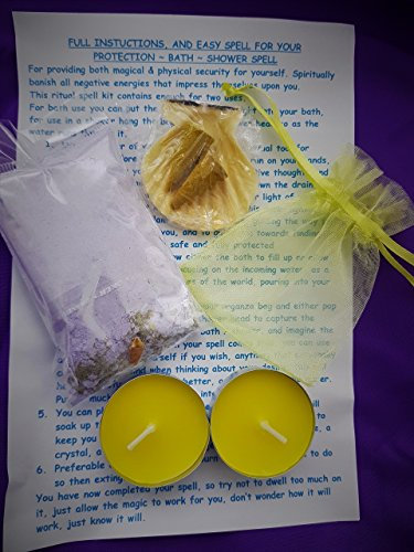 Complete Spell Kit ~ PROTECTION From Anyone Wishing you Harm Seen Or Unseen