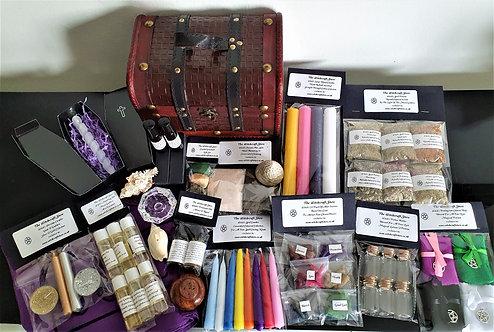 Witches Superb Altar Chest Starter Kit In Gift Pks