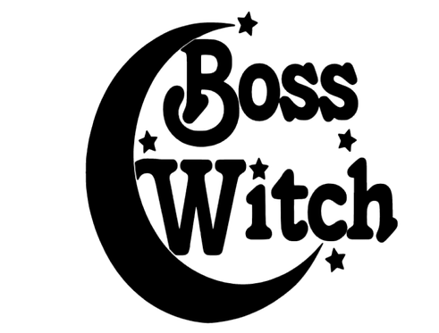 Witches Vinyl Decal Stickers Pk of 4 For Your Chalice or Wine Glass