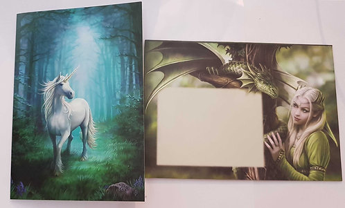Greetings Card by Anne Stokes 'Forest Unicorn'