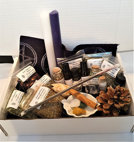 Pure Magick ~ Witches Shadow Gift Set ~ Spell Potions ~ Altar Supplies