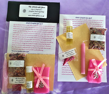Witch's Potent Spell  ~ Complete Love ~ Romance Kit ~ Spell Potions