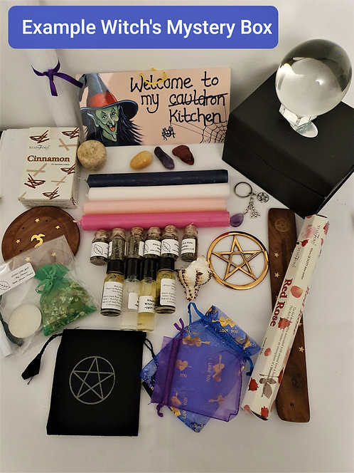 Mystery Witches Box ~ Surprise Witches Spell Altar Items