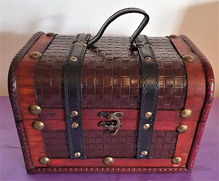 Antique Replica ~ Witches Altar Box ~ Vintage Style Storage For Your Spell Items