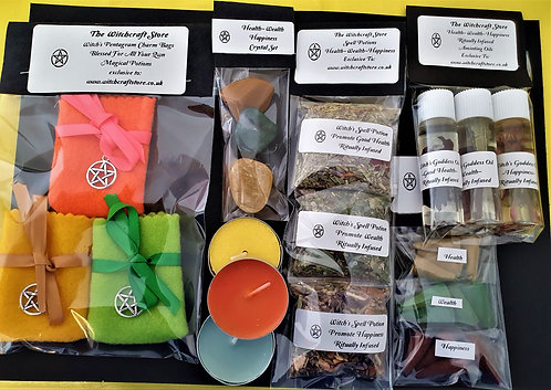 Witch's Altar Kit Bring Health Wealth Happiness Into Your Life