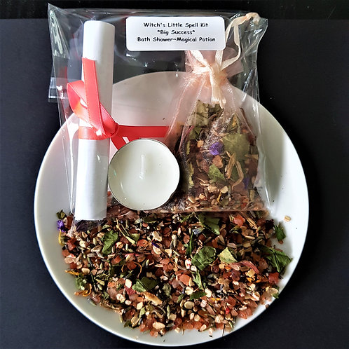 Witch's Little Spell kit ~ Big Success ~ Bath ~ Shower