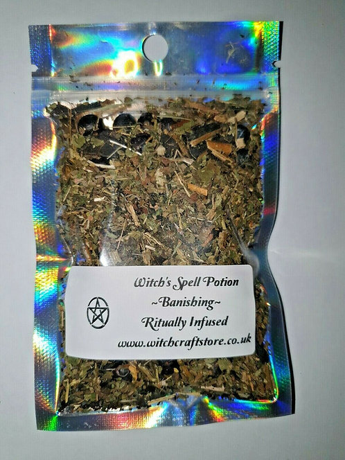 Witches Potent Banishing Spell Potions ~ Hex ~ Curse ~ Bad Luck