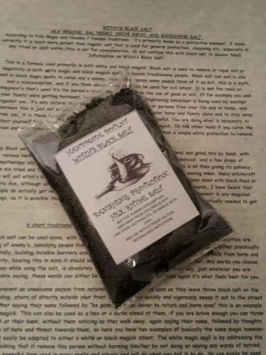 Altar Salt - Genuine Witches Black Salt 100gms Extremely Potent