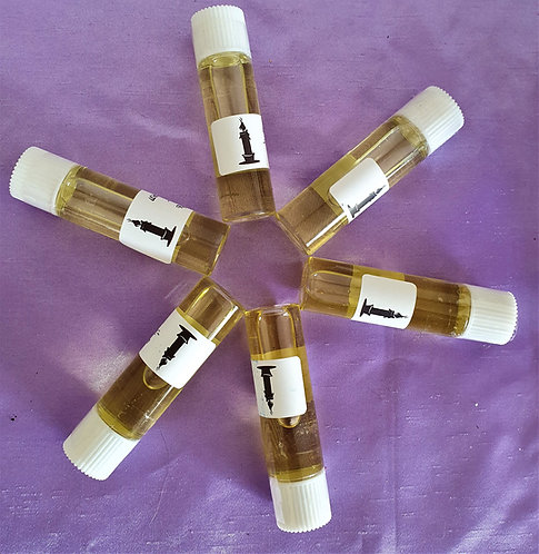 Witches Mystery ~Pk of 6 Potent Anointing Altar Oils Ritually Infused