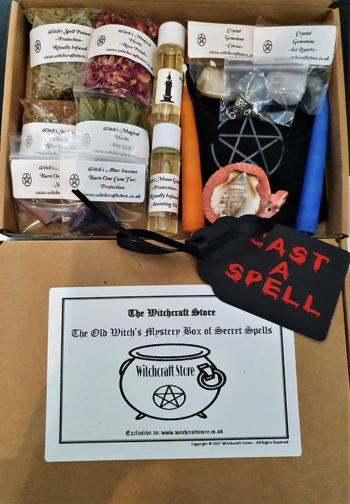 Secret Witches Spell box ~ Mystery Surprise Witchcraft Supplies