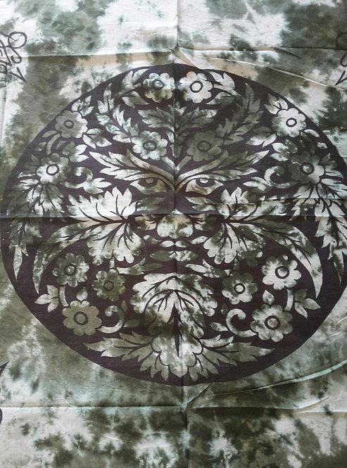 Altar Cloth, Green Man ~Extra Large