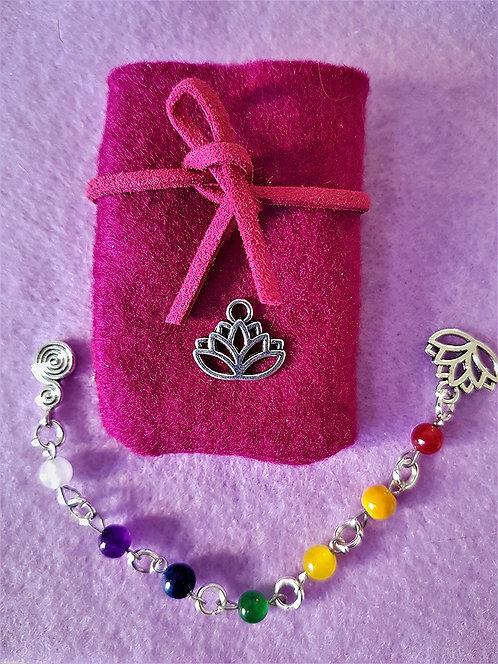 Chakra Healing Pocket Crystal Meditation Beads ~ All 7 Chakra Crystals