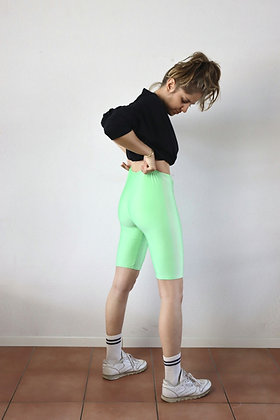Short cycliste vert