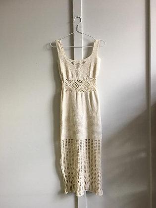 Robe en crochet Vintage