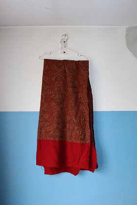 Écharpe oversize en laine
