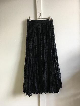 Jupe longue transparente Vintage