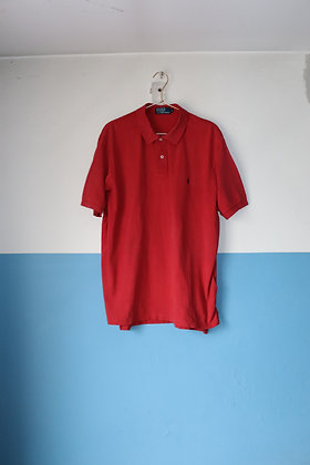 Polo rouge by Ralph Lauren