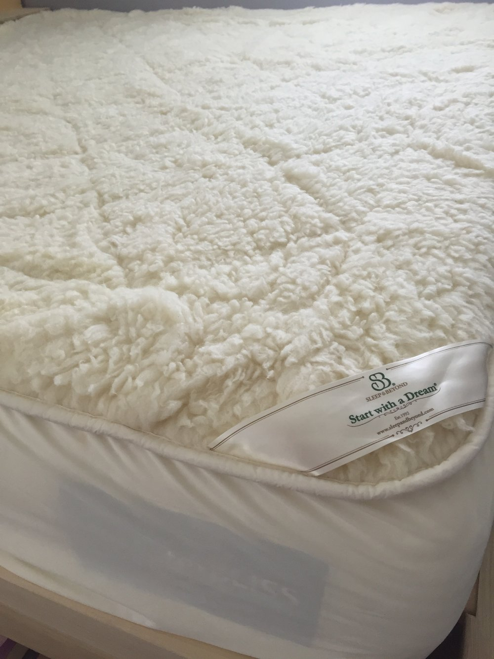 Sleep and Beyond mattress protector