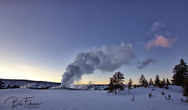 Bob Falcone - YellowstoneOldFaithfulSuns