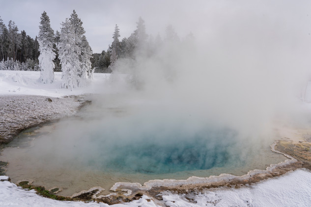 Leah Meade - Geothermal pool in West Yel