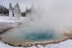 Leah Meade - Geothermal pool in West Yel
