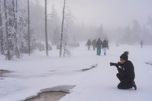 Leah Meade - Nancy1 in West Yellowstone.