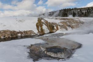 Leah Meade - Geyser Pool in Yellowstone.