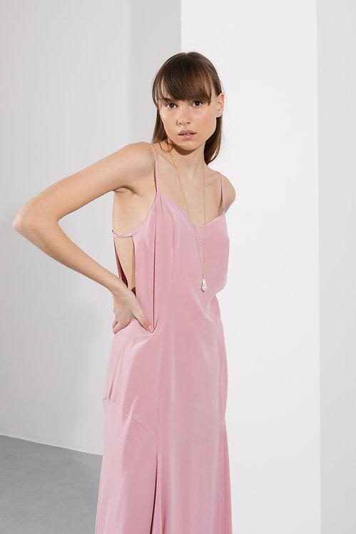 JOVANA MARKOVIC silk dress