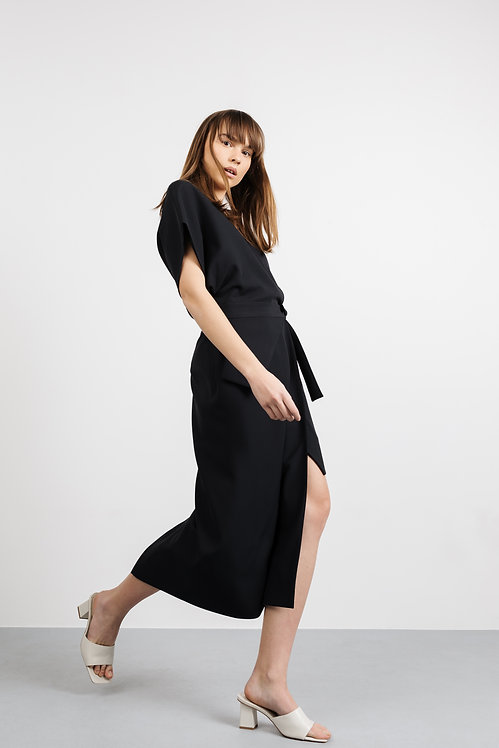 SESTRES Kimono Asymmetrical dress