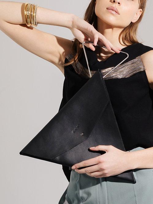 KOKORO Origami Triangle bag black